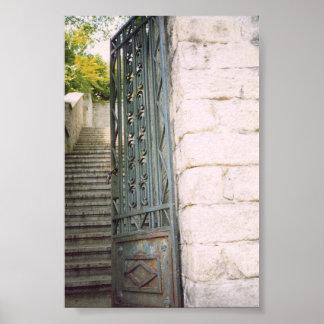 Escaleras Póster