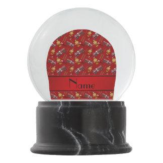 Escaleras rojas conocidas personalizadas de los bola de nieve