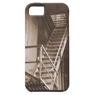 Escaleras viejas funda para iPhone SE/5/5s