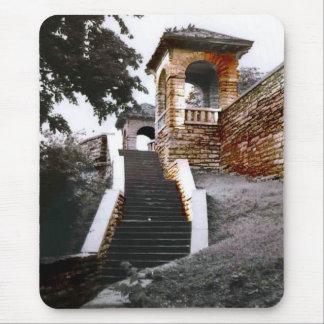 Escaleras y arcos alfombrilla de ratón