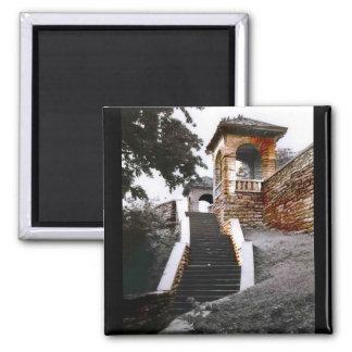 Escaleras y arcos iman para frigorífico