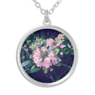 Escallonia rosado floral colgante redondo
