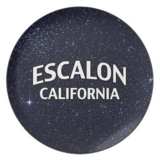 Escalon California Plato Para Fiesta