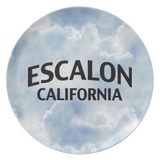 Escalon California Platos Para Fiestas