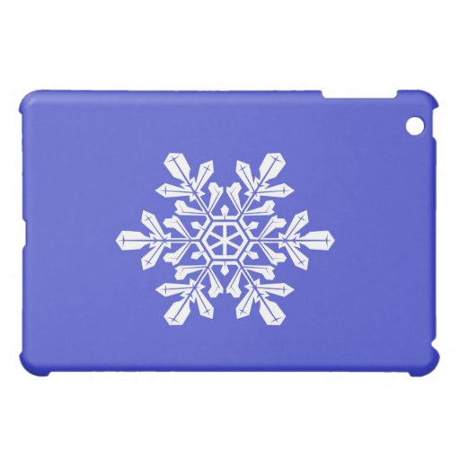 Escama azul de la nieve del caso de Ipad