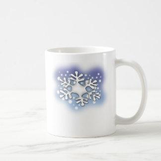 escama de la nieve taza clásica