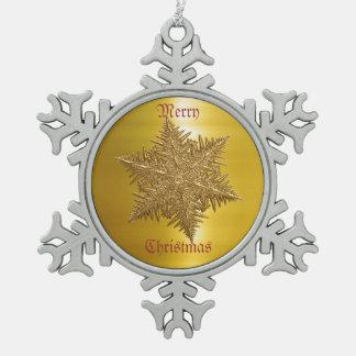 Escama del metal del oro viejo adornos