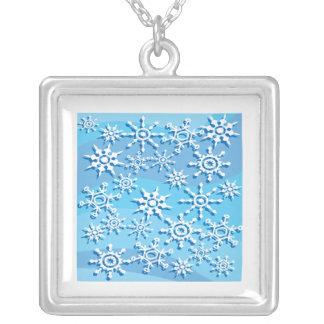 Escamas 2 de la nieve collares personalizados