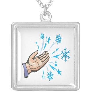 Escamas de cogida de la nieve collar personalizado