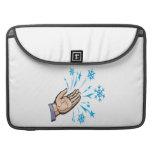 Escamas de cogida de la nieve fundas para macbook pro