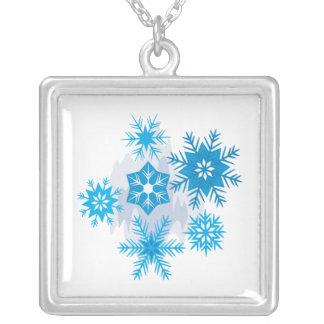 Escamas de la nieve colgante personalizado
