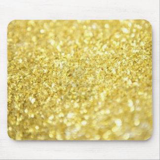 Escamas del oro alfombrilla de ratón