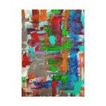 escamas lienzo envuelto para galerías