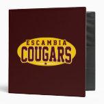 Escambia Academy; Cougars Binder