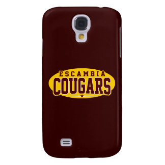 Escambia Academy; Cougars Galaxy S4 Cover