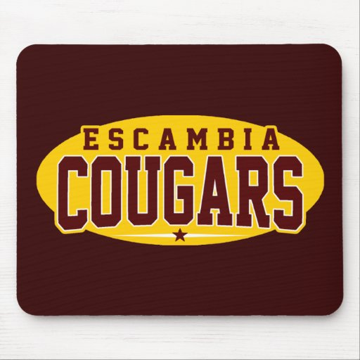 Escambia Academy; Cougars Mouse Pad