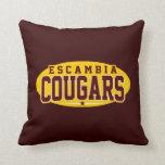 Escambia Academy; Cougars Pillow