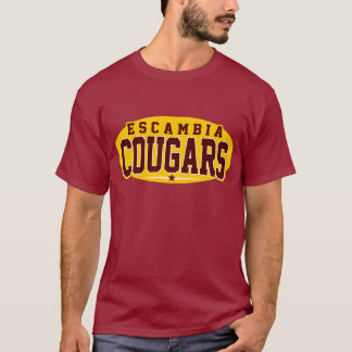 Escambia Academy; Cougars T-Shirt