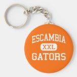 Escambia - Gators - High - Pensacola Florida Keychain
