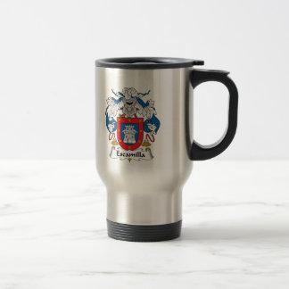 Escamilla Family Crest Mug