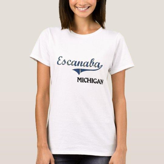 Escanaba Michigan City Classic T-Shirt