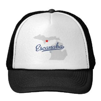 Escanaba Michigan MI Shirt Trucker Hat