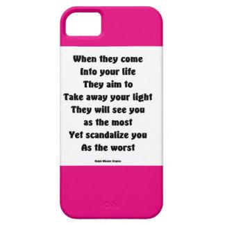 Escandalicele como el peor iPhone 5 carcasa