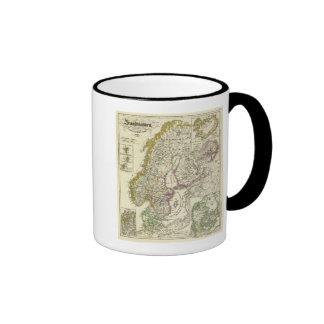 Escandinavia a la unión de Calmare, 1397 Tazas