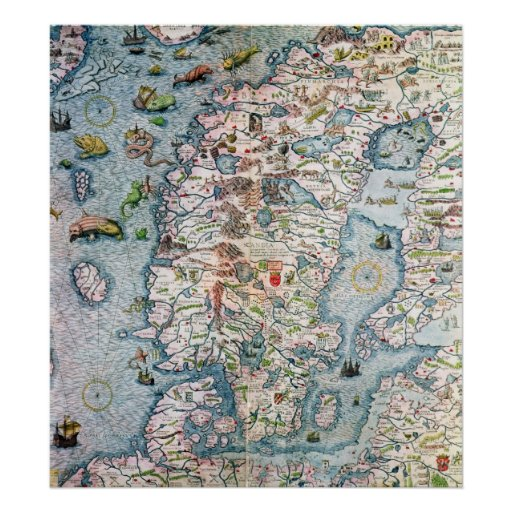 Escandinavia, detalle del puerto deportivo de Cart Impresiones