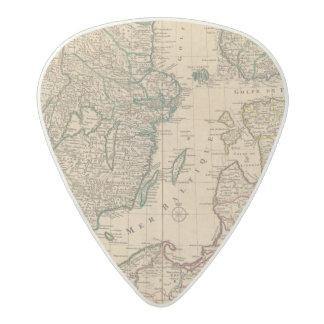 Escandinavia, mar Báltico, Suecia, Dinamarca Púa De Guitarra Acetal