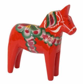 Escandinavo del caballo de Dala del sueco Adorno Fotoescultura