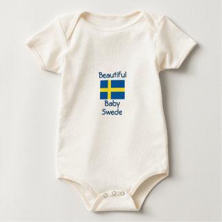 Escandinavo hermoso sueco del bebé trajes de bebé