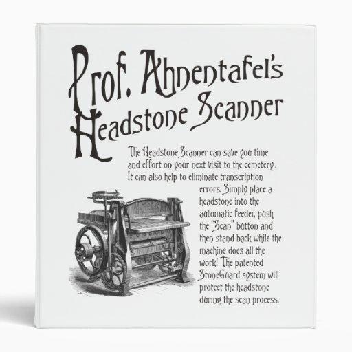 """Escáner de Headstone de profesor Ahnentafel Carpeta 1"""""""
