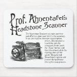 Escáner de Headstone de profesor Ahnentafel Alfombrilla De Ratones