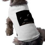 Escáner de la galaxia - arte del espacio del radar camisetas de perro