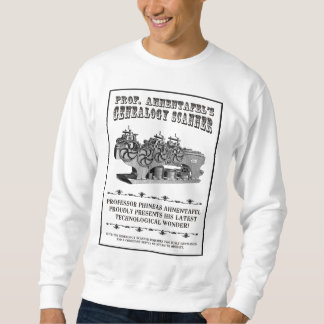 Escáner de la genealogía pulover sudadera