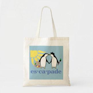 Escapade Art Tote Canvas Bag
