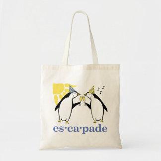 Escapade Party Tote Canvas Bag