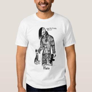escapado, odio camisas