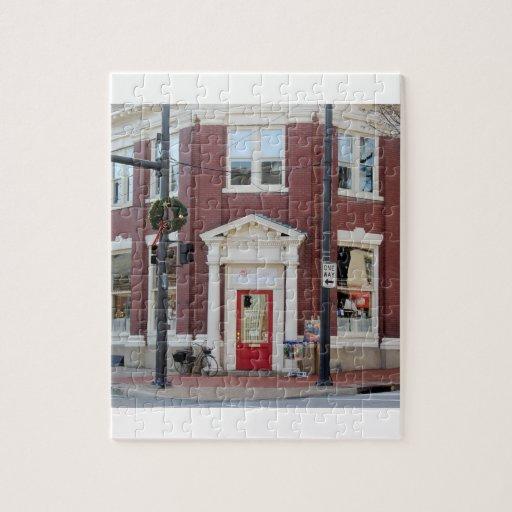 Escaparate céntrico de Fredericksburg Puzzles Con Fotos