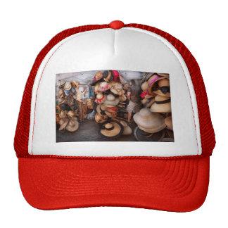 Escaparate - el soporte del gorra