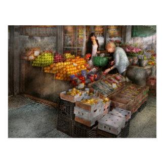 Escaparate - Hoboken, NJ - selección de la fruta Postal