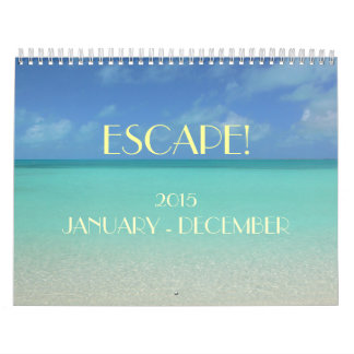 """ESCAPE"" 2015 CALENDAR/ SKY/SEA/SUN CALENDAR"