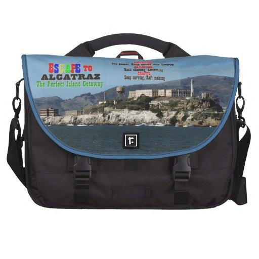Escape a Alcatraz Bolsas De Ordenador