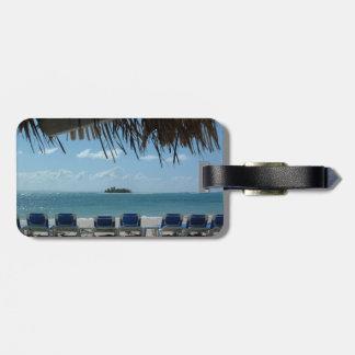 Escape a la etiqueta del equipaje de la playa