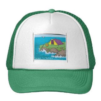 Escape a la naturaleza gorras