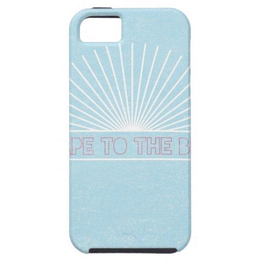 Escape a la playa iPhone 5 Case-Mate carcasa
