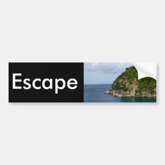 Escape Bumper Sticker