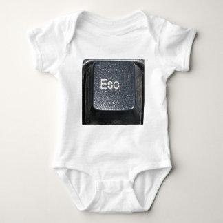 ESCAPE BUTTON BABY BODYSUIT