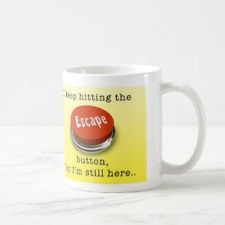 Escape Button Mug